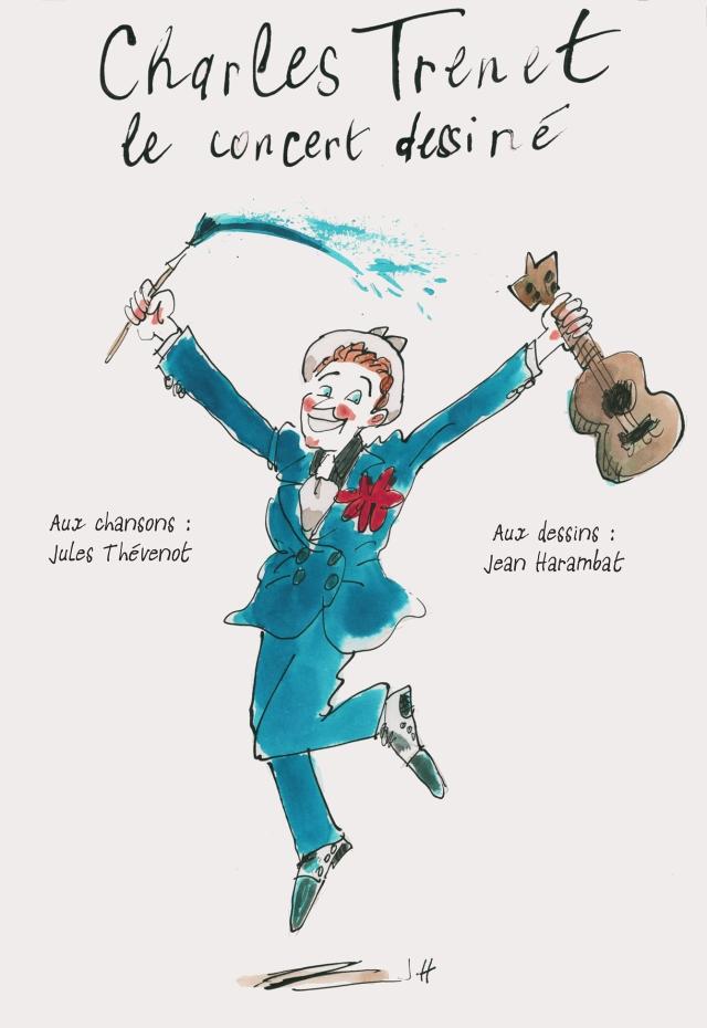 affiche-trenet-concert-dessiné